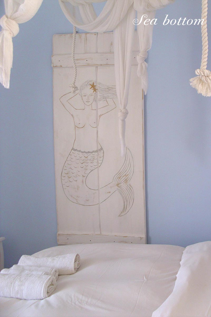 Amfitriti studios at Serifos - The room sea bottom